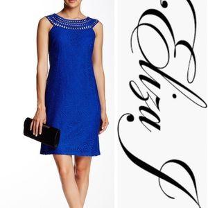 Sleeveless Lace Shift Dress (NWOT)